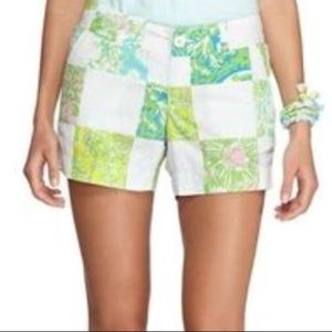 ✨Lioness patchwork Callahan short   Lilly Pulitzer